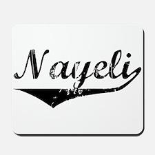 Nayeli Vintage (Black) Mousepad