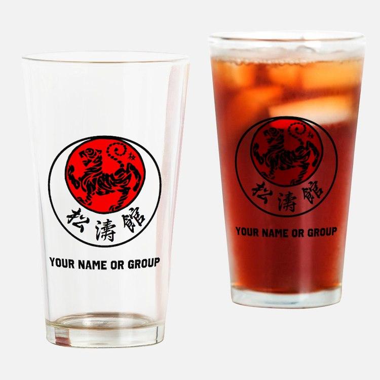 SHOTOKAN PERSONALIZED RISING SUN TI Drinking Glass