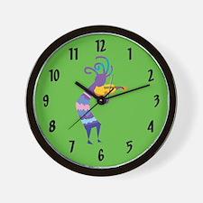 Kokopelli 15 Wall Clock