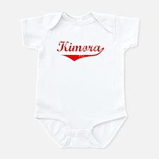 Kimora Vintage (Red) Infant Bodysuit