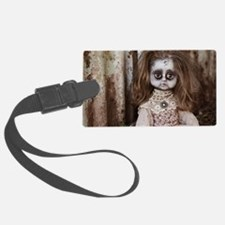 Unique Scary doll Luggage Tag