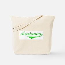 Marianna Vintage (Green) Tote Bag