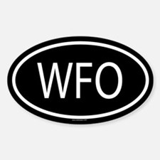 WFO Oval Decal