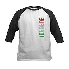 Burundi Stamp Kids Baseball Jersey