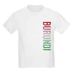Burundi Stamp Kids Light T-Shirt
