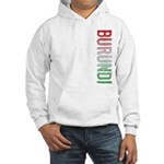 Burundi Stamp Hooded Sweatshirt