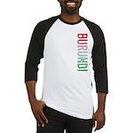 Burundi Stamp Baseball Jersey