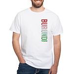 Burundi Stamp White T-Shirt