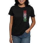 Burundi Stamp Women's Dark T-Shirt