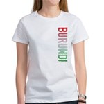 Burundi Stamp Women's T-Shirt