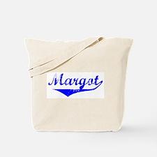 Margot Vintage (Blue) Tote Bag