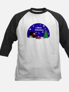 Snowmobile Christmas Tee