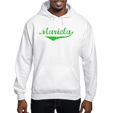 Mariela Vintage (Green) Hoodie Sweatshirt
