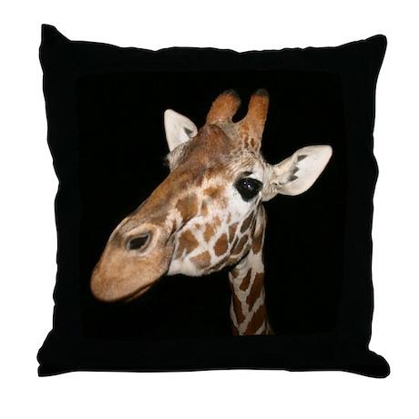 Beautiful Giraffe Throw Pillow
