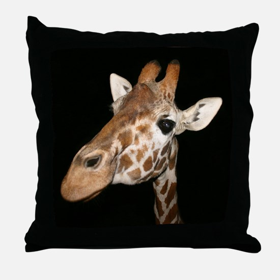 Beautiful Giraffe Throw Pillow