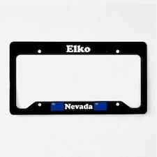 Elko NV - LPF License Plate Holder