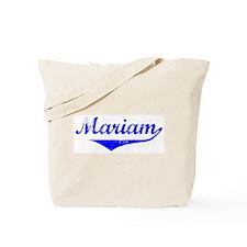 Mariam Vintage (Blue) Tote Bag
