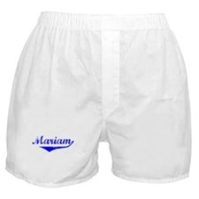 Mariam Vintage (Blue) Boxer Shorts