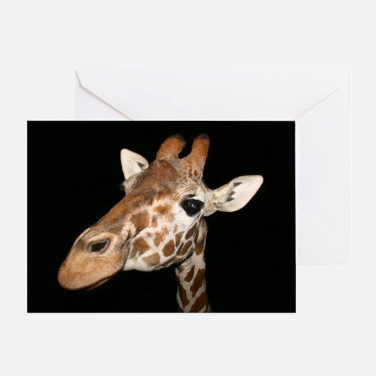 Beautiful Giraffe Greeting Card