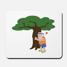 Tree Hugger Man Mousepad