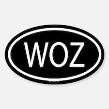 WOZ Oval Decal