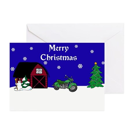 Motorcycle Christmas Greeting Cards (Pk of 20)
