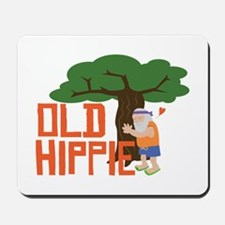 Old Hippie Mousepad