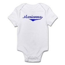 Marianna Vintage (Blue) Infant Bodysuit