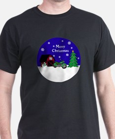 Motorcycle Christmas T-Shirt