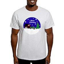 Motorcycle Christmas T-Shirt