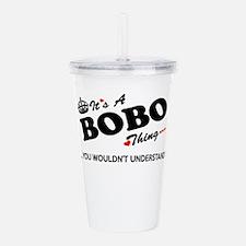Bobo Acrylic Double-wall Tumbler