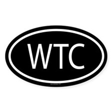 WTC Oval Decal