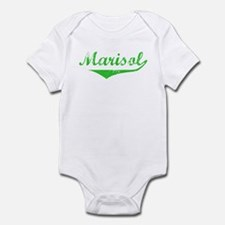 Marisol Vintage (Green) Infant Bodysuit
