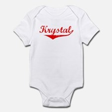 Krystal Vintage (Red) Infant Bodysuit