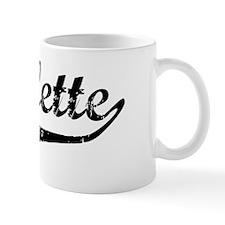 Nicolette Vintage (Black) Mug