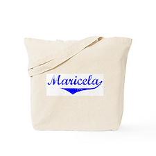 Maricela Vintage (Blue) Tote Bag