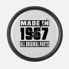 Made In 1967 Large Wall Clock