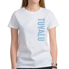 Tuvalu Stamp Women's T-Shirt