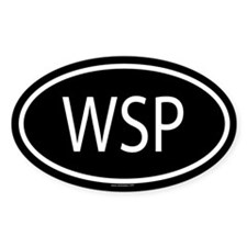 WSP Oval Decal