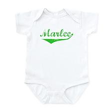 Marlee Vintage (Green) Infant Bodysuit