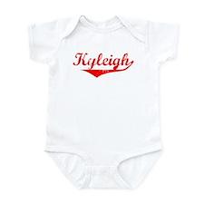 Kyleigh Vintage (Red) Infant Bodysuit
