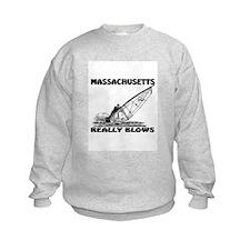 MASSACHUSETTS REALLY BLOWS Sweatshirt