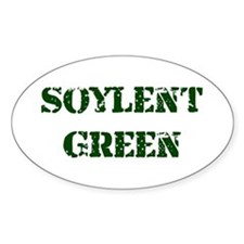 Soylent Green Oval Decal