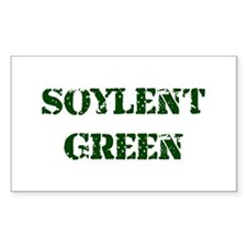 Soylent Green Rectangle Decal