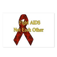 Fight AIDS Postcards (Package of 8)
