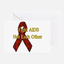Fight AIDS Greeting Card