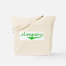 Marquise Vintage (Green) Tote Bag