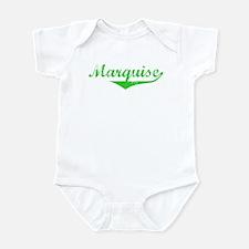 Marquise Vintage (Green) Infant Bodysuit