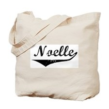 Noelle Vintage (Black) Tote Bag