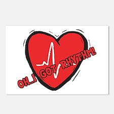 Cardiac Rhythm Postcards (Package of 8)